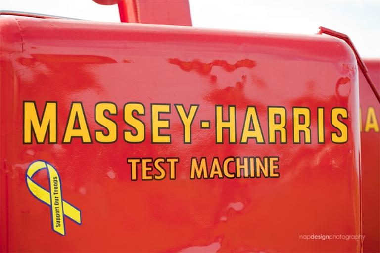 Massey Harris Test Combine