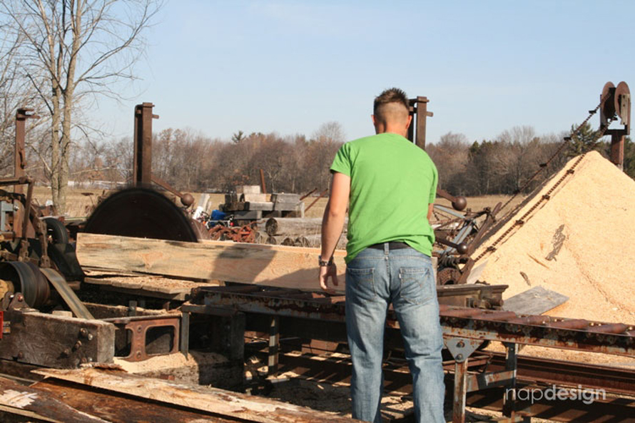 The Sawmill – napdesign heritage by Gary Napiwocki