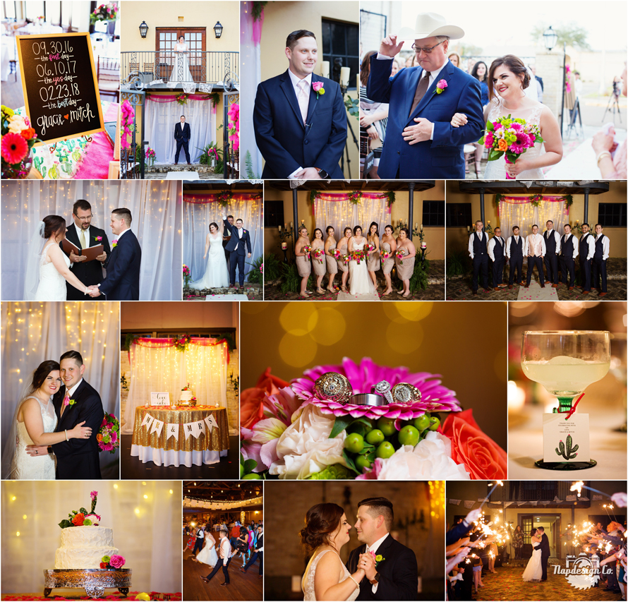 Fiesta Themed Wedding At The Venue Cuero Tx Napdesign Co