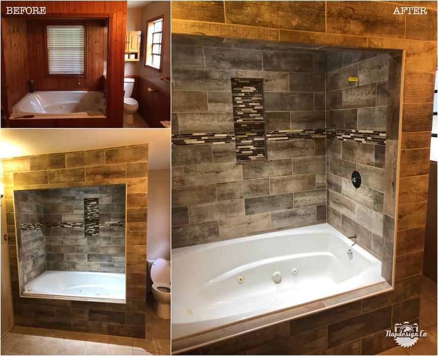 Tiled Bath/Shower Surround – Hallettsville, TX » Napdesign Co